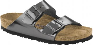 Birkenstock Arizona NL WB Metallic Anthracite anthracite