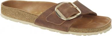 Birkenstock Madrid Big Buckle FL HEX Cognac braun