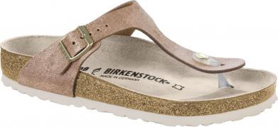 Birkenstock Gizeh VL Washed Metallic Rose Gold gold