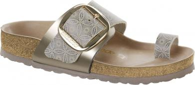Birkenstock Miramar Big Buckle NL Ceramic Pattern Blue blue
