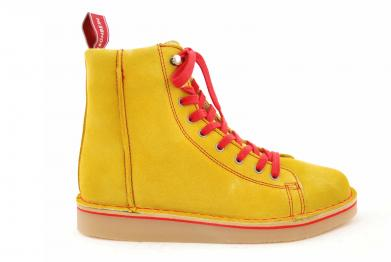 Grünbein Louis suede yellow