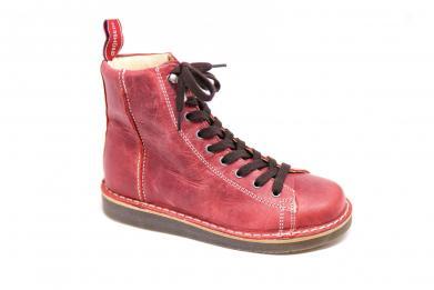Grünbein Louis Smooth Leather IV red