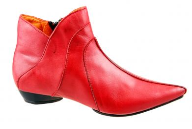 Billy Rock Aladin Stiefelette rot